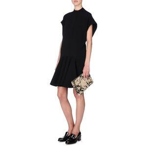 Stella McCartney Abrey Black Dress Sz 36 $1200